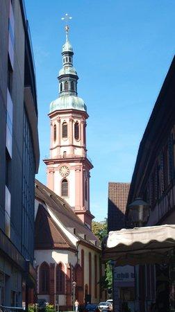 Hotel Sonne : Eglise d'Offenburg