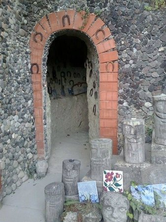 Casa Museo : tunnel della fortuna