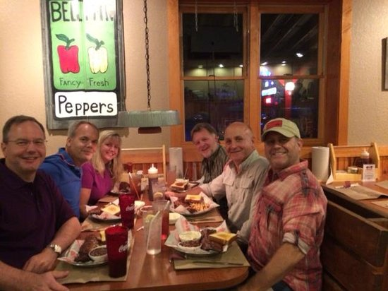 Great family dinner at Rib Country!