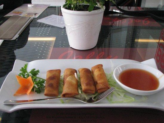 Restaurant Jolly: Vegetable rolls