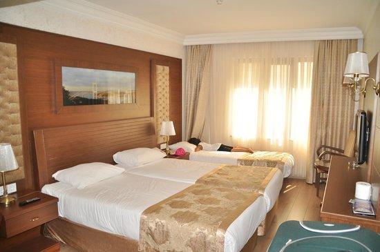 Yigitalp Hotel: la chambre