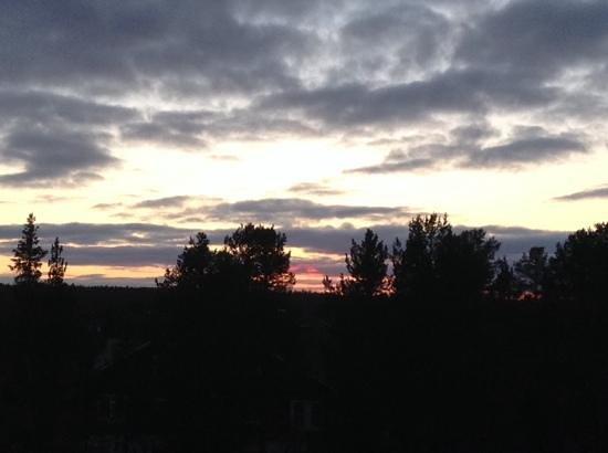 Break Sokos Hotel Levi: the view from my balcony.
