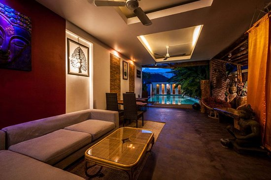 Three Room d'Angkor Boutique : lobby face to pool