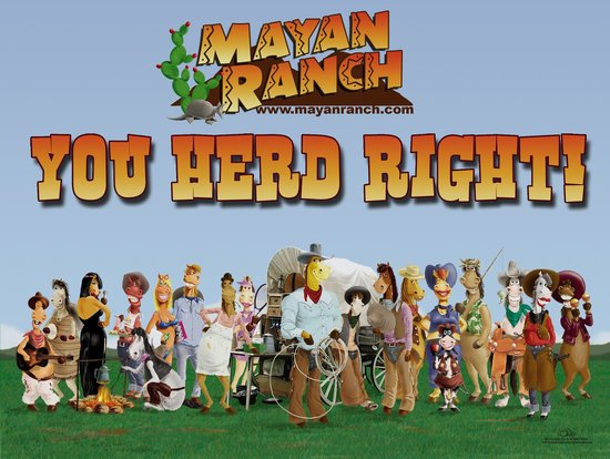 Mayan Dude Ranch: You Herd Right