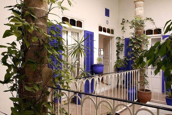 Villa Maroc: Patio en étage
