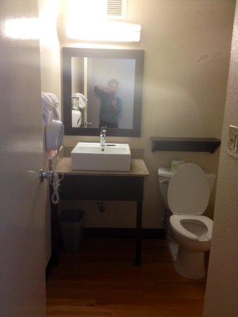 Red Roof PLUS+ Boston - Woburn : Bathroom