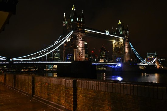 The Butlers Wharf Chop House: Vue sur Tower Bridge !