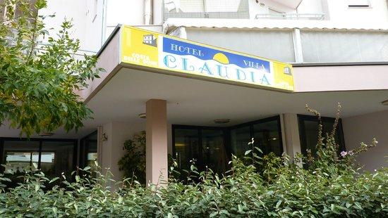 Hotel Villa Claudia: facciata