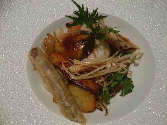dessert : figues - picture of le concert de cuisine, paris