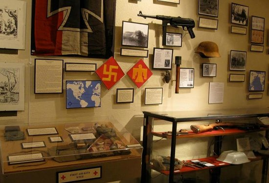 Fort Tuthill Military Museum : German relics