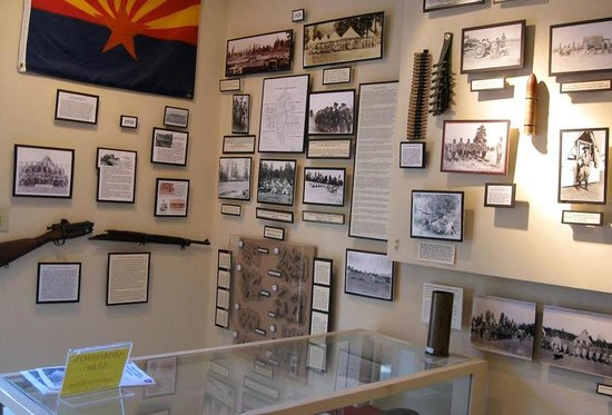 Fort Tuthill Military Museum: More information on the formation of the 158th
