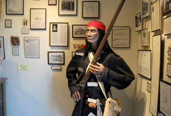 Fort Tuthill Military Museum: Native American uniform