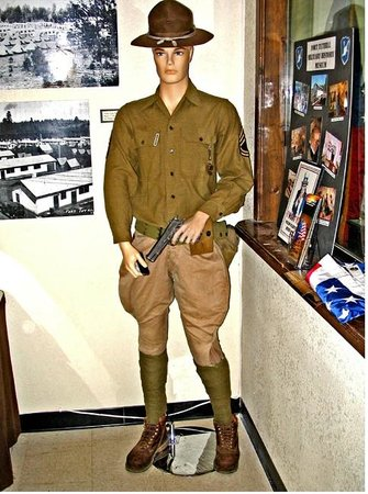 Fort Tuthill Military Museum: Infantry soldier
