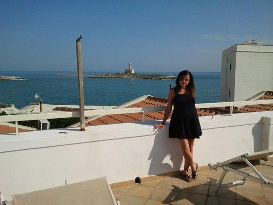 Hotel Punta San Francesco: la terrazza dell'hotel