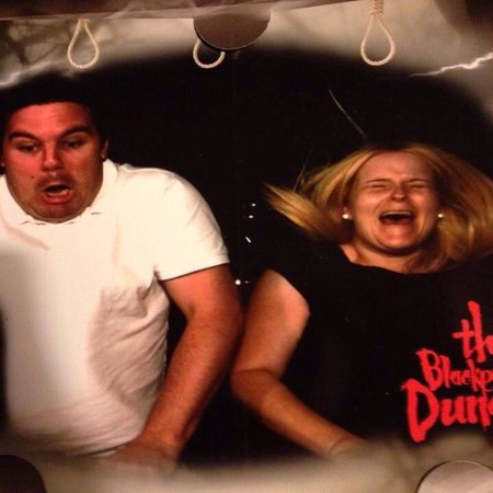 The Blackpool Tower Dungeon: You're hung lol