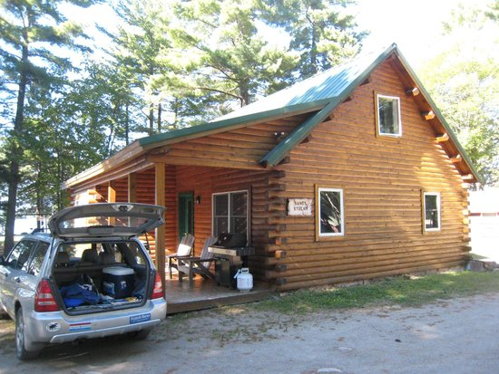 New England Outdoor Center - NEOC: Our cabin