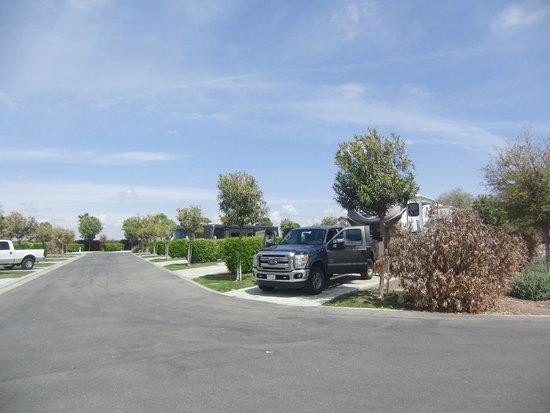 Chowchilla, Californie: The Lakes RV resort