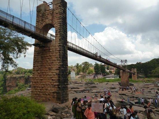Belgaum, India: GOKAK FALLS HANGING BRIDGE
