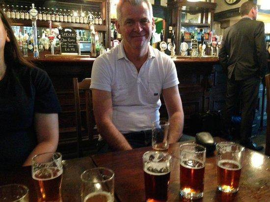London Tavern Trails: John the tour guide
