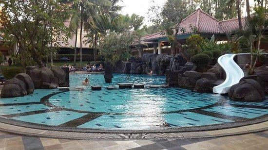 Melia Purosani: Pool Area