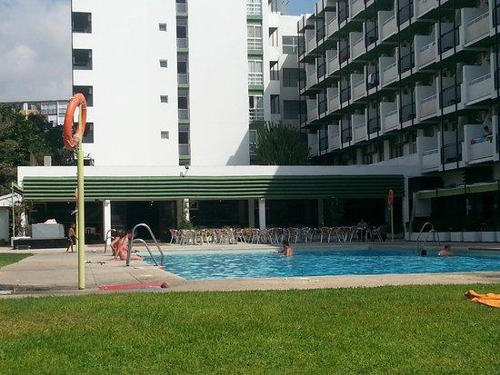 Hotel San Fermin : piscina