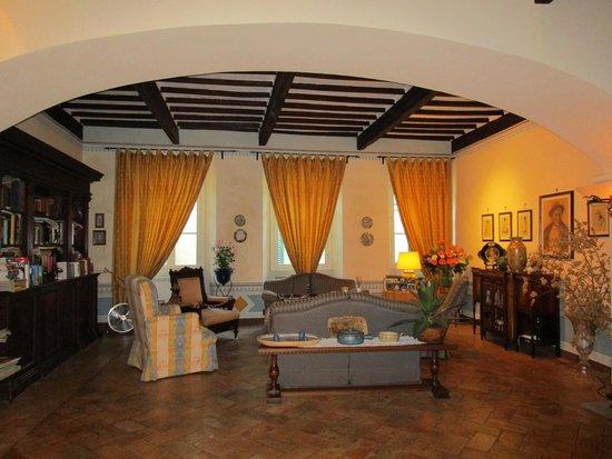 Palazzina Cesira: Communal living room