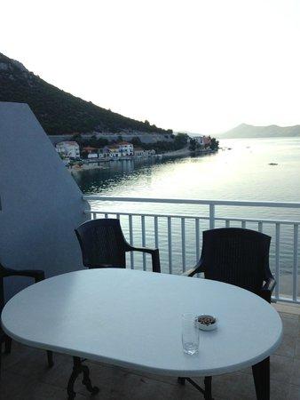 Apartments Alfijo: pohled z terasy