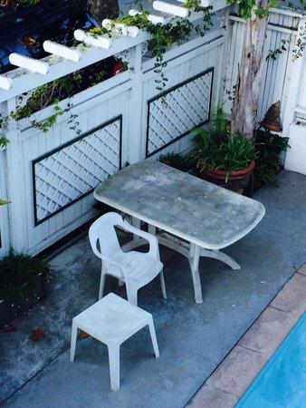 Carmel Inn & Suites: Dirty pool