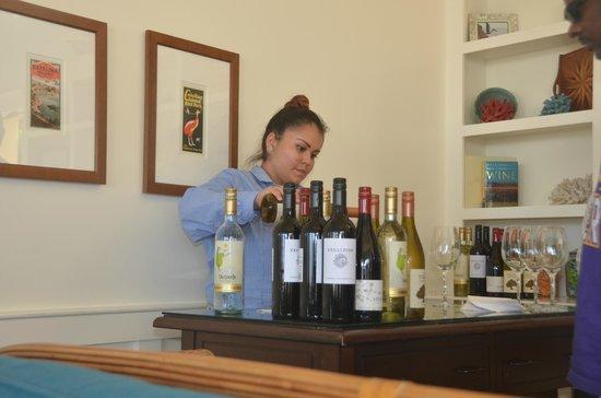 Pavilion Hotel: Wine
