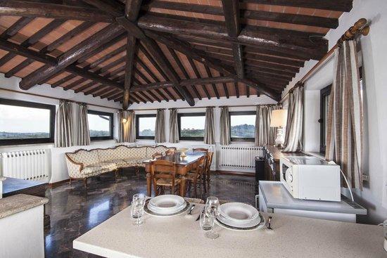 La Loggia - Villa Gloria: soggiorno appartamento TORRE