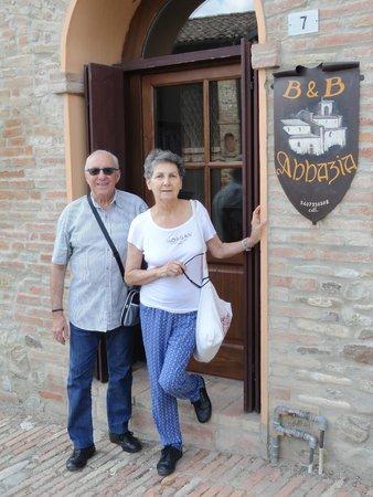Monteveglio, Itália: l'ingresso del B&B