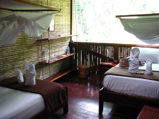 Tambopata Research Center : Room with two beds