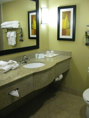 Comfort Suites Orlando Airport: The bathroom