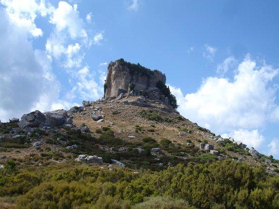 Gairo, Italy: Giro ad anello attorno al tacco.