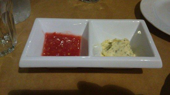 Enetikon Restaurant : Gruß aus der Küche