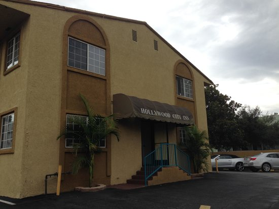 Hollywood City Inn: Edificio secondario