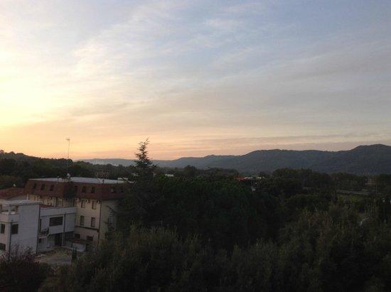 Hotel Umbria: vista alba