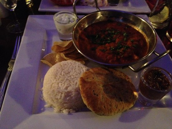 Melton Constable, UK: Curry!