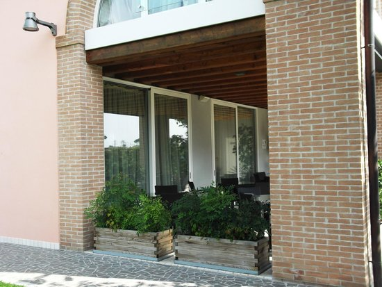 Agriturismo Ca' Beatrice: Entrance and breakfast area