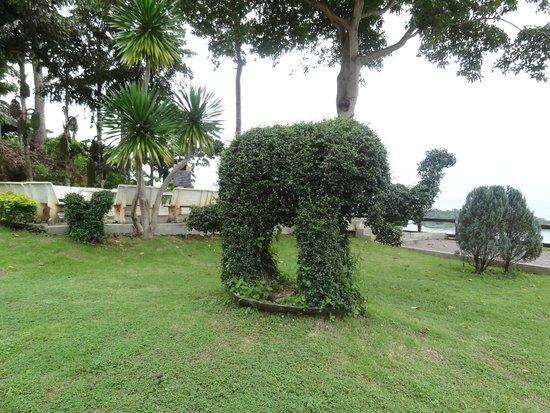 Mu Ko Chang National Park View Point: los jardines son preciosos