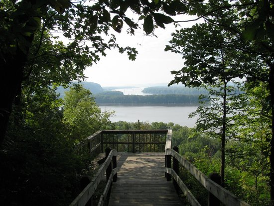 Mississippi Palisades State Park: Forever views