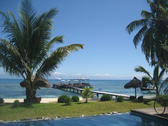 Princesse Bora Lodge & Spa: View from the restaurant