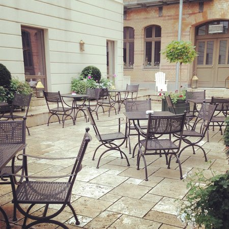 Monbijou Hotel: Terrasse