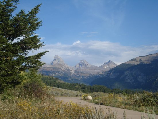 Grand Targhee Resort : stop on the way to the top