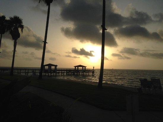 Lighthouse Inn at Aransas Bay: View from breakfast