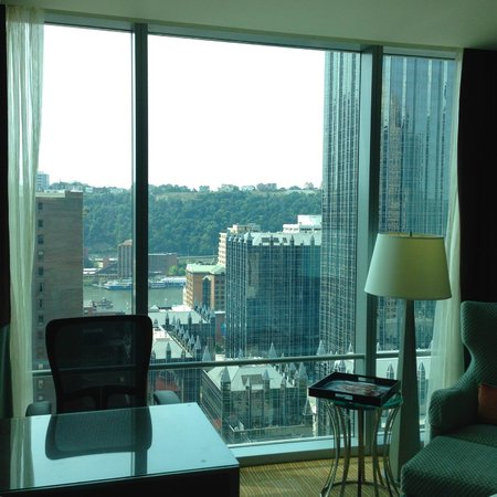 Fairmont Pittsburgh: View from the Room