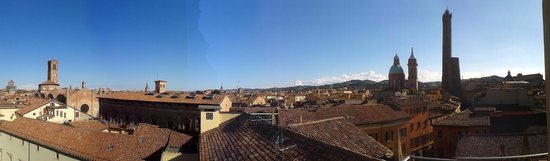 Best Western Hotel San Donato: Panoramic view from the 4th floor terrace.