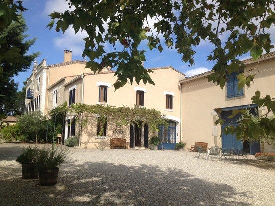 Chateau Canet: De voorkant