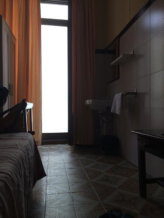 Pension Segre: The room! Small but comfy and clean