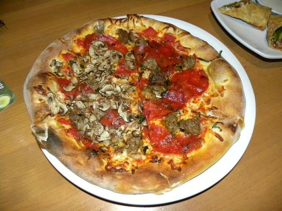 Mushroom Pepperoni Sausage Pizza - Picture of California Pizza ...